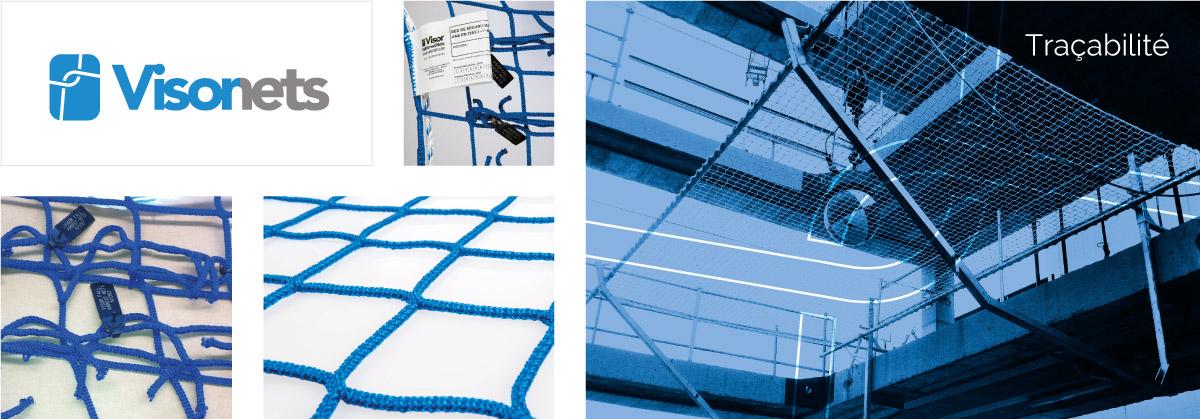 Traçabilité - VISORNETS - Visor Fall Arrest Nets